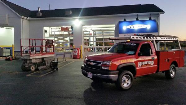 3500 truck commercial lifts garage door repair