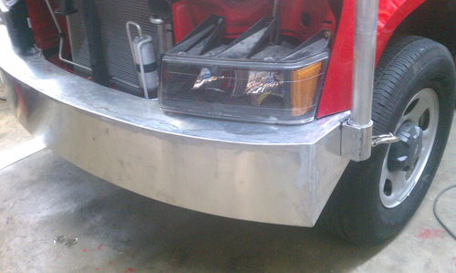 Highfield door custom Colorado truck bumper