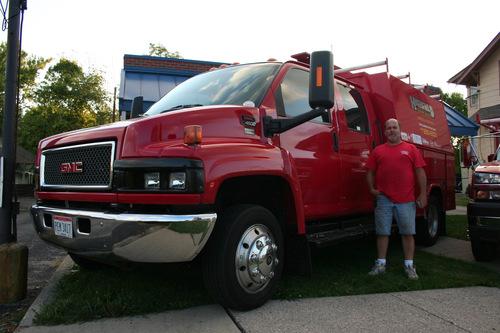 Rod Highfield c4500 Chevy work truck