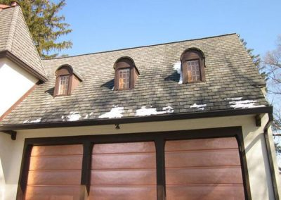 Bronze Copper Garage Overhead CHI Doors