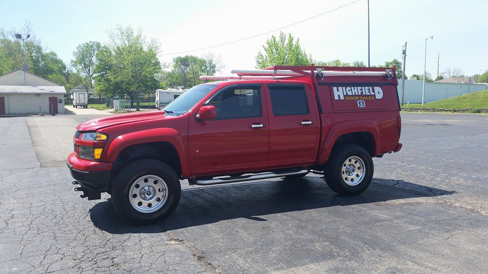 Chevy Colorado Work Truck Highfield Door Lifted