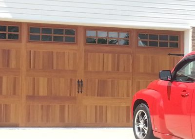 Wood Grain Carriage House CHI Door
